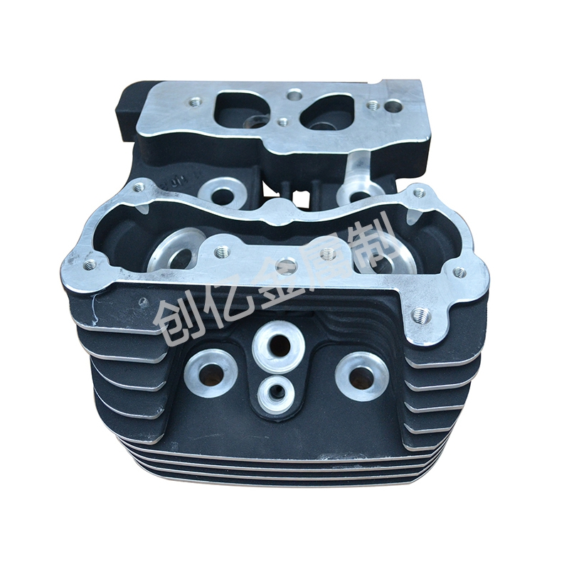 Motorcycle cylinder head